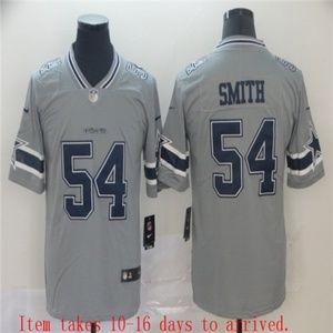 Dallas Cowboys Jaylon Smith Jersey Gray